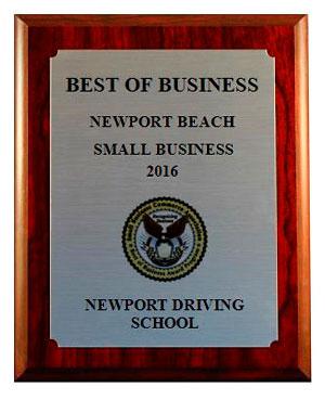 Newport Driving School, SBCA Best of Business Profile